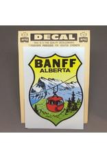 Vivid Print Vintage Banff Decal