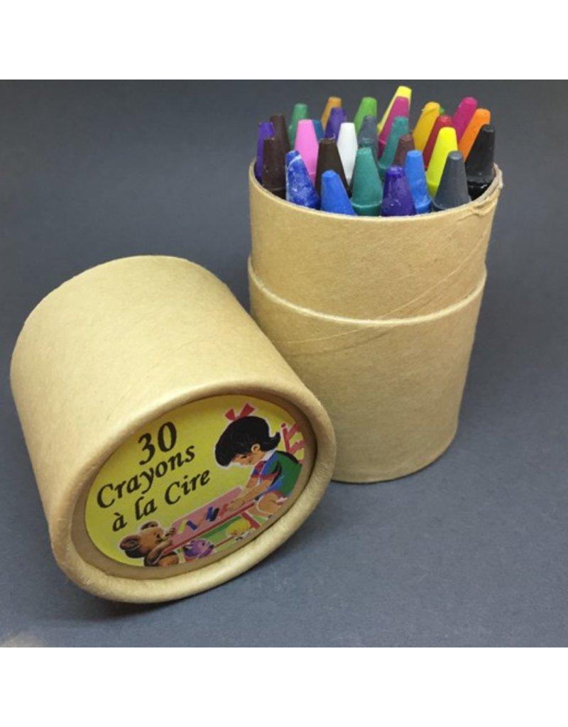 30 Crayons a la Cire