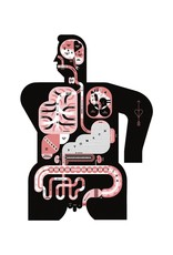 Vivid Print Raymond Biesinger | Male Anatomy 17 x 22 Digital Print