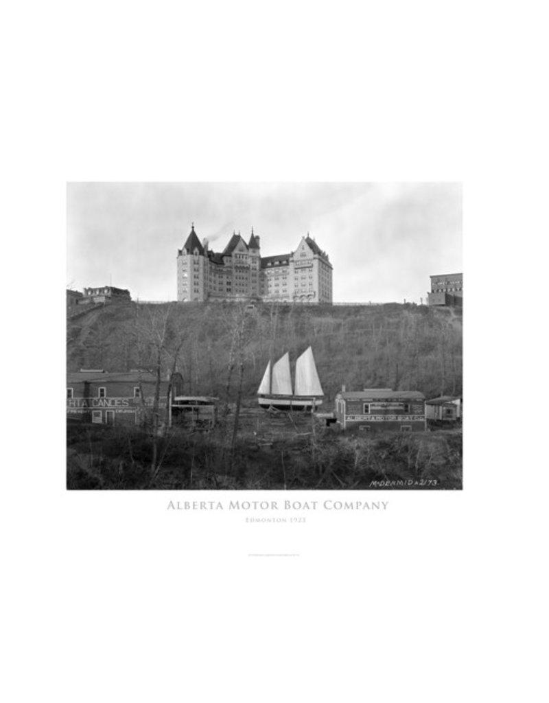 Vivid Archives Alberta Motor Boat Company 1923 Poster