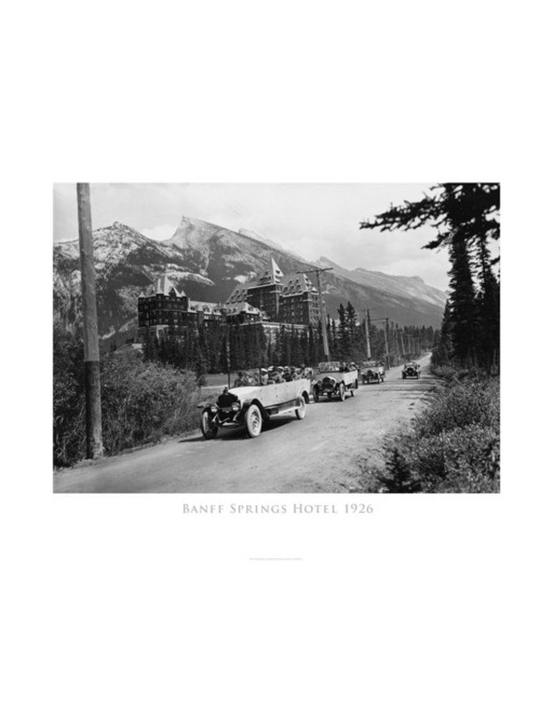 Vivid Archives Banff Springs Hotel 1926 Poster