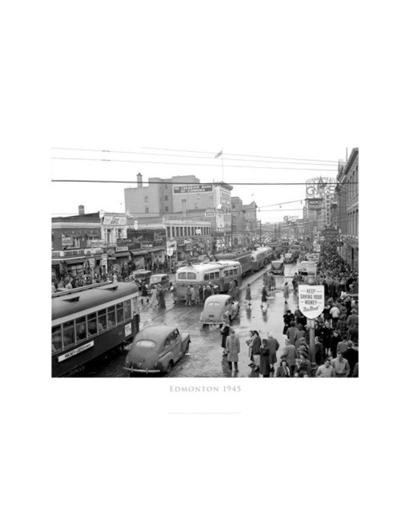 Vivid Archives Edmonton 1945 Poster