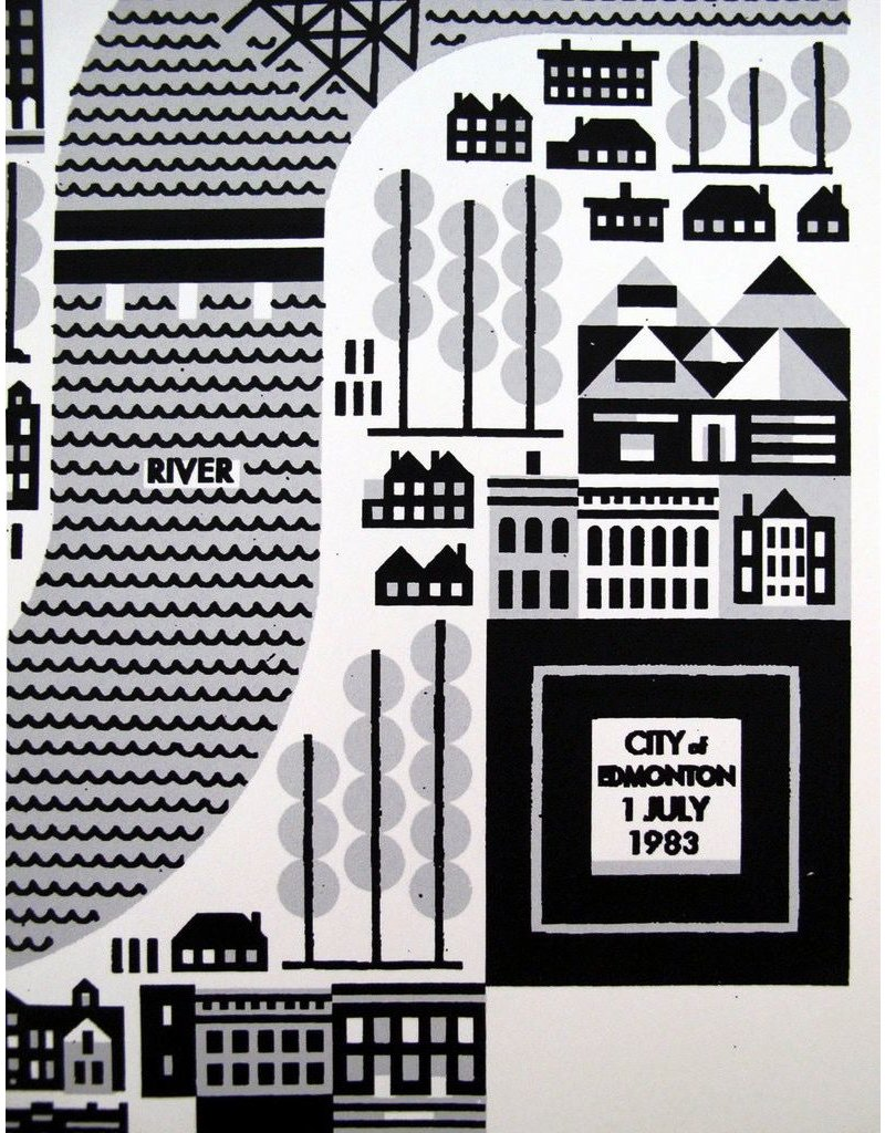 Vivid Print Raymond Biesinger | Edmonton on 1 July 1983 Universiade
