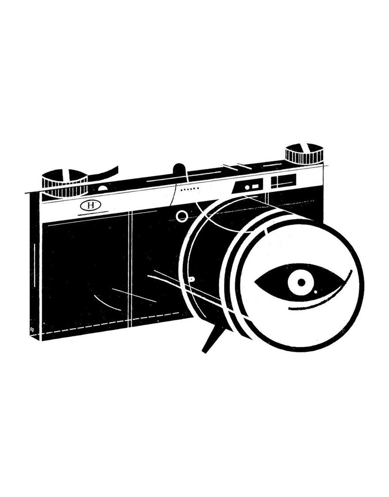 Vivid Print Raymond Biesinger   Surveillance 16 x 24 Slkscreened Print
