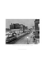 Vivid Archives Night View of Jasper Avenue Poster