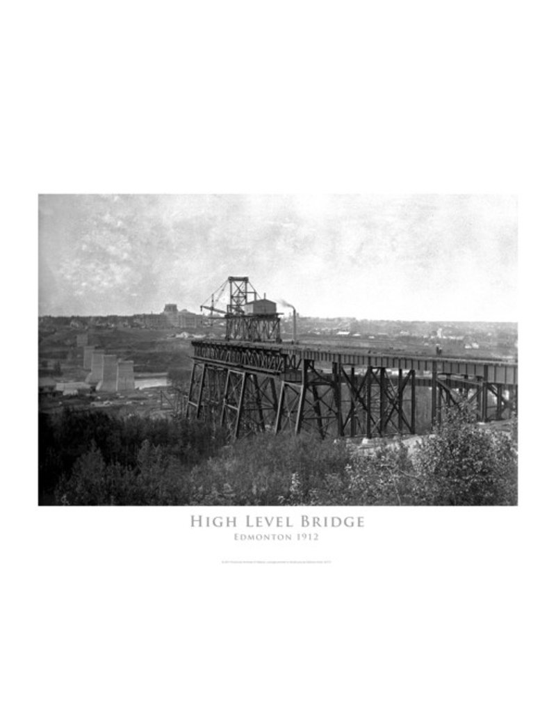 Vivid Archives High Level Bridge April 1912 Poster