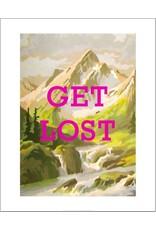 Vivid Print Bee Waeland | Get Lost