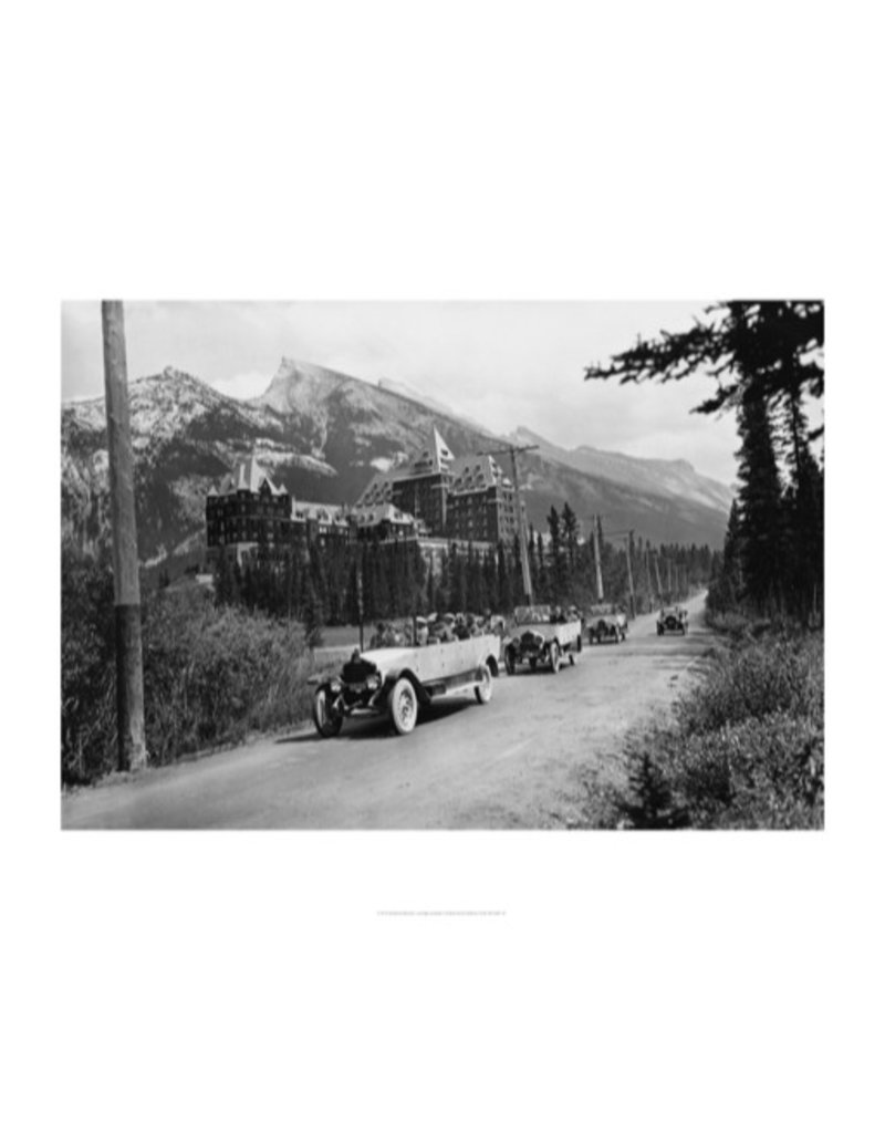 Vivid Archives Banff Springs Hotel 1926
