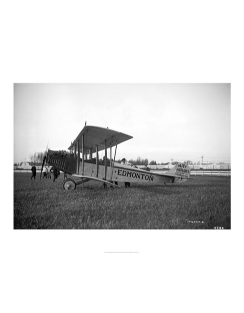 Vivid Archives Airplane and Pilot 1919