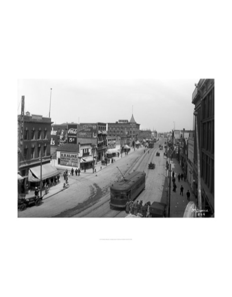 Vivid Archives Jasper Avenue East from Queen's Avenue 1914