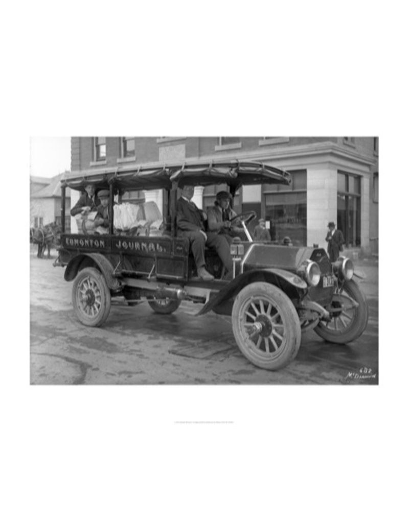 Vivid Archives Edmonton Journal Motor Truck 1914