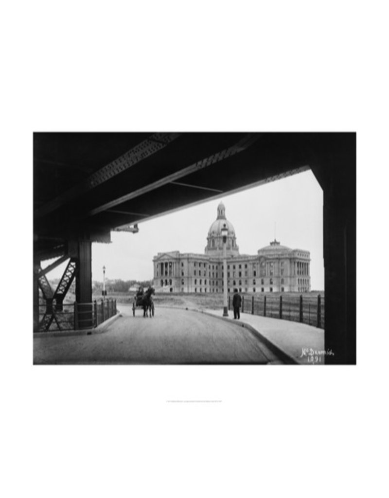 Vivid Archives Legislature Building from Bridge 1914