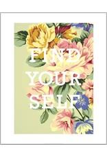 Vivid Print Bee Waeland | Find Yourself
