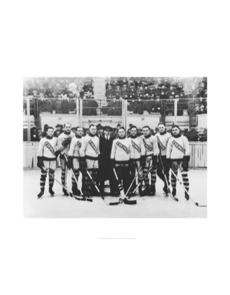 Vivid Archives Edmonton Eskimos Hockey Team 1920-1921