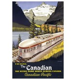 Eurographics Canadian Pacific, The Scenic Dome Route, 1955