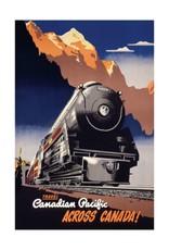 Eurographics Canadian Pacific across Canada, 1930