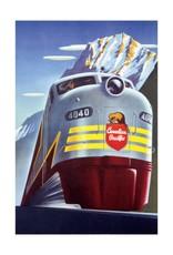 Eurographics Canadian Pacific - Diesel 4040 Locomotive