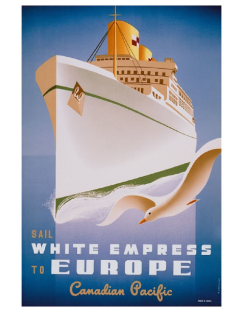 Eurographics Sail White Empress to Europe