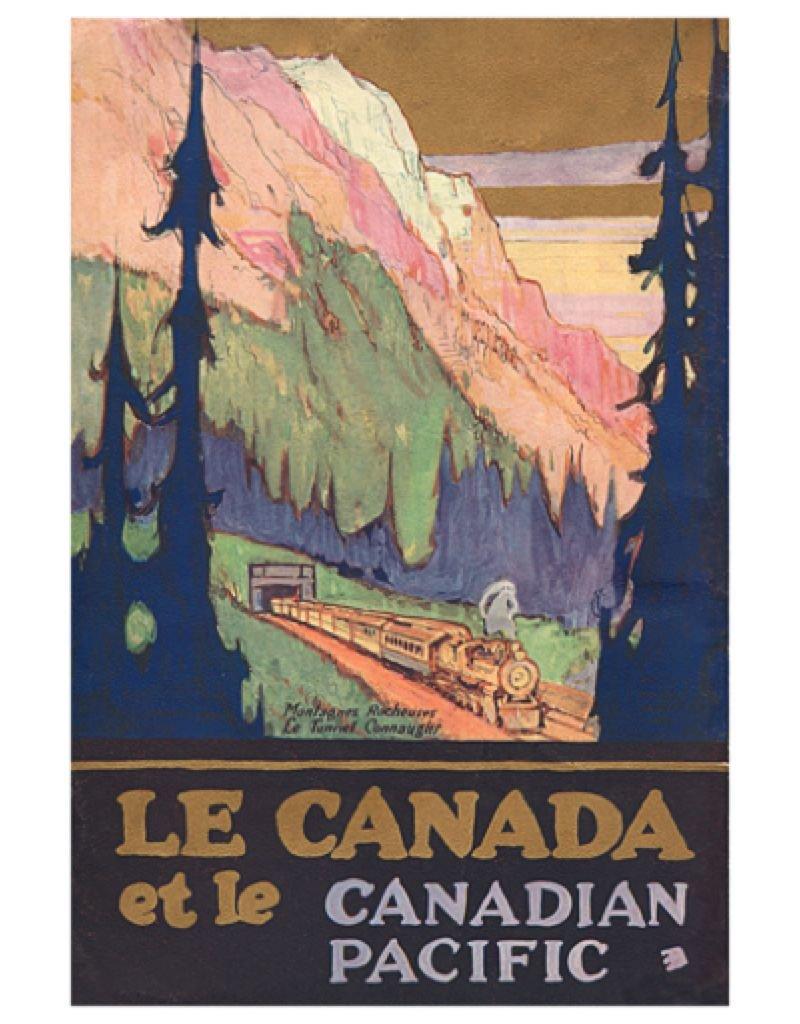 Eurographics Le Canada et le Canadian Pacific