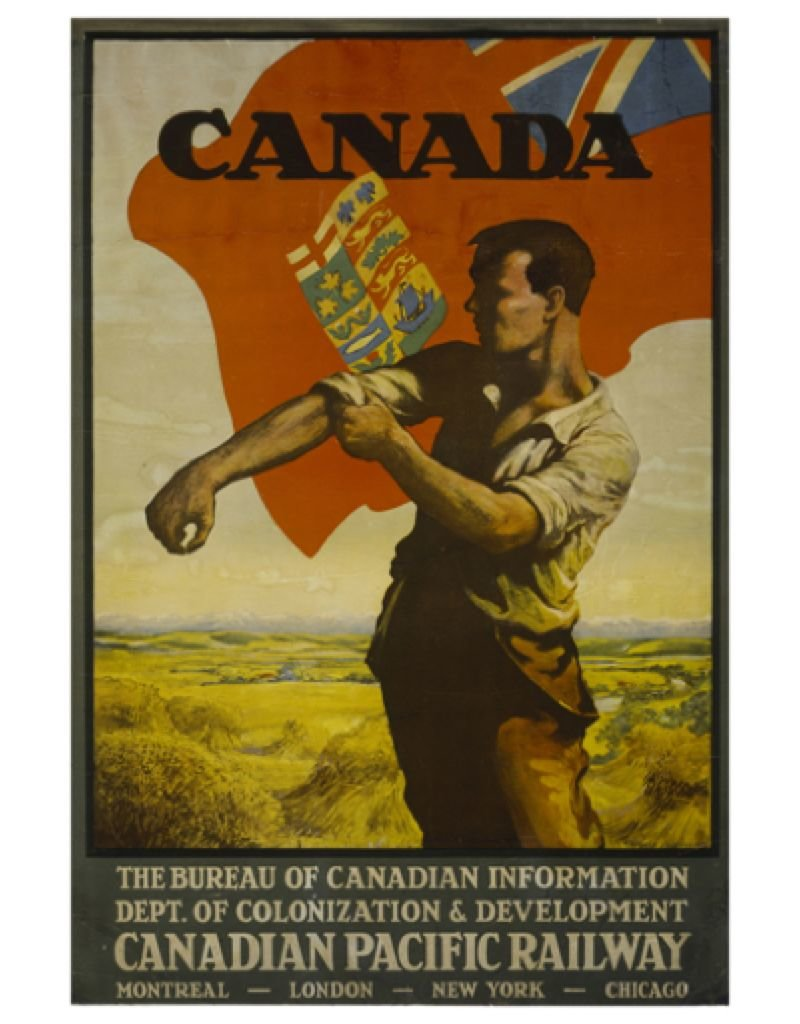 Eurographics Bureau of Canadian Information - Dept of Colonization