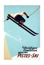 Eurographics Le Pacifique Canadien Mene aux Pistes de Ski