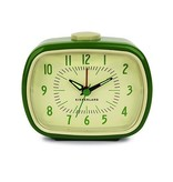 Kikkerland Retro Alarm Clock Green