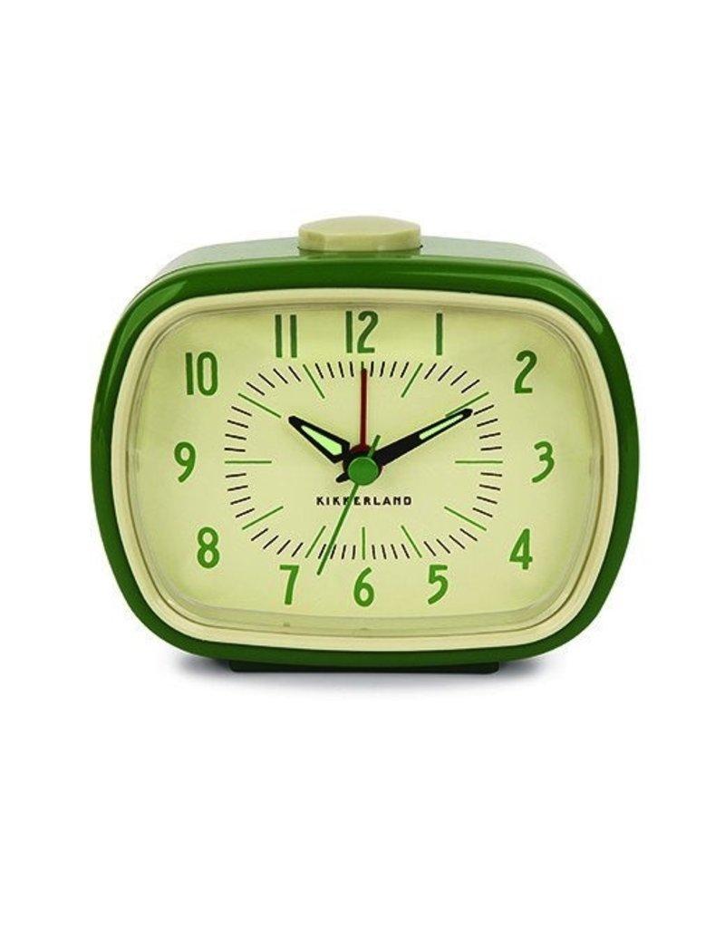 Retro Alarm Clock Green