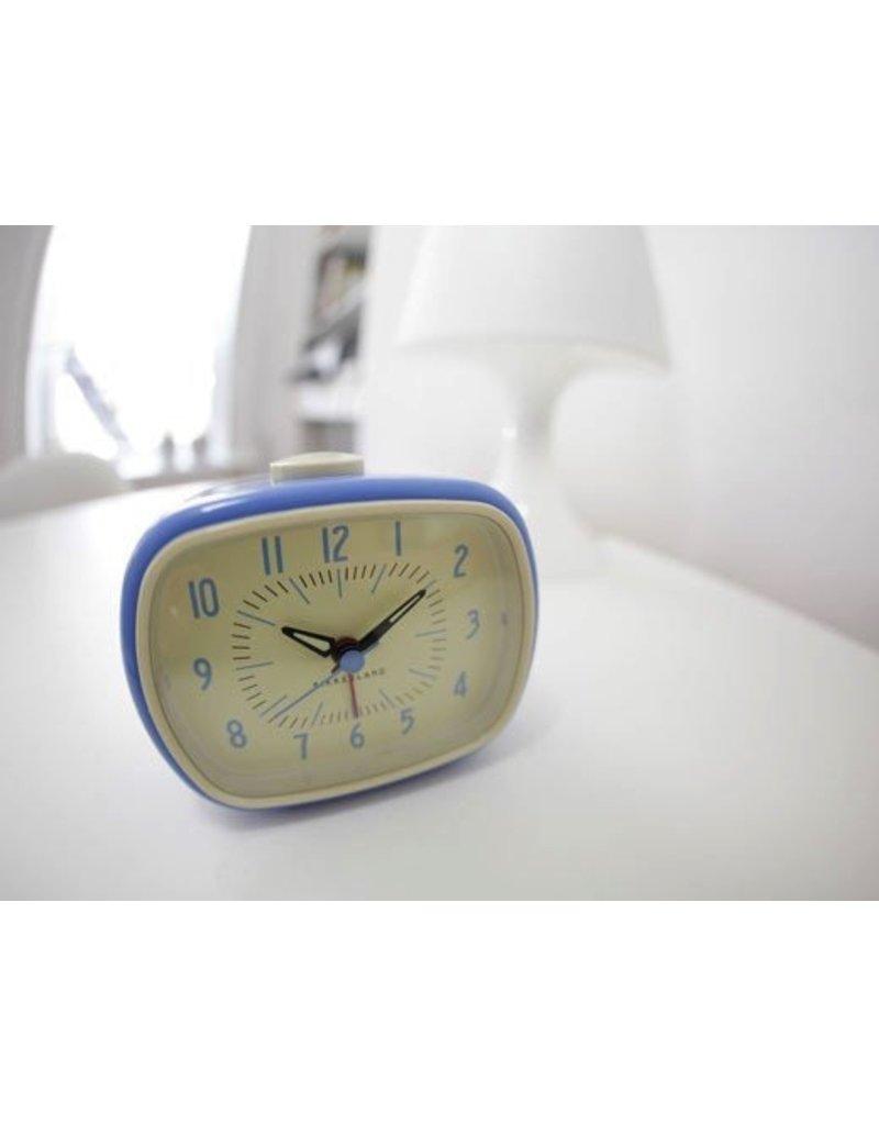 Retro Alarm Clock Blue
