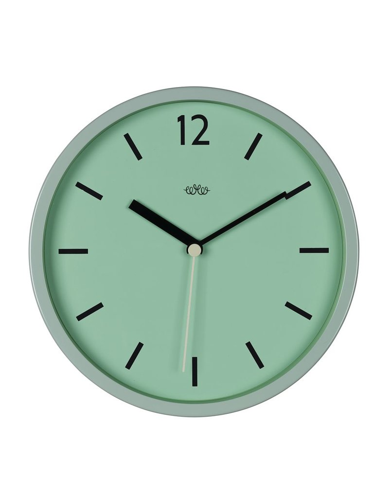 Wild & Wolfe Wall Clock Swedish Green 12""
