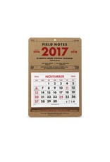 Field Notes Field Notes 15-Month Work Station Calandar 2017