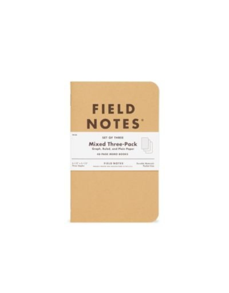Field Notes Mixed 3 Pack