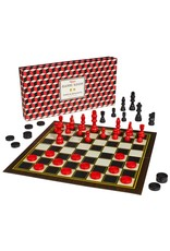 Wild & Wolfe Games Room; Chess And Checkers Set