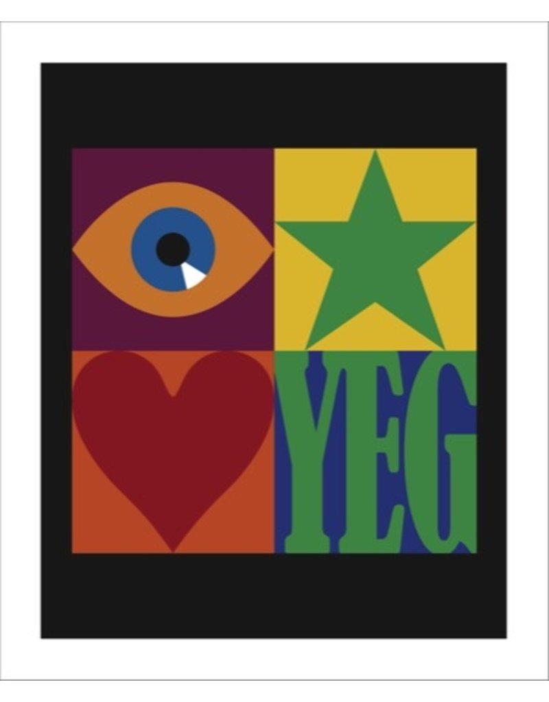 Vivid Print Bee Waeland | YEG