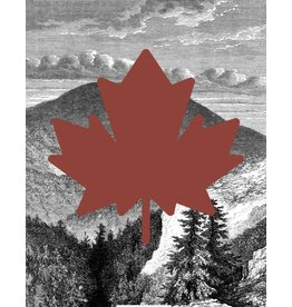 Vivid Print Bee Waeland | Canada Maple