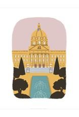 Vivid Print Bee Waeland | Alberta Legislature