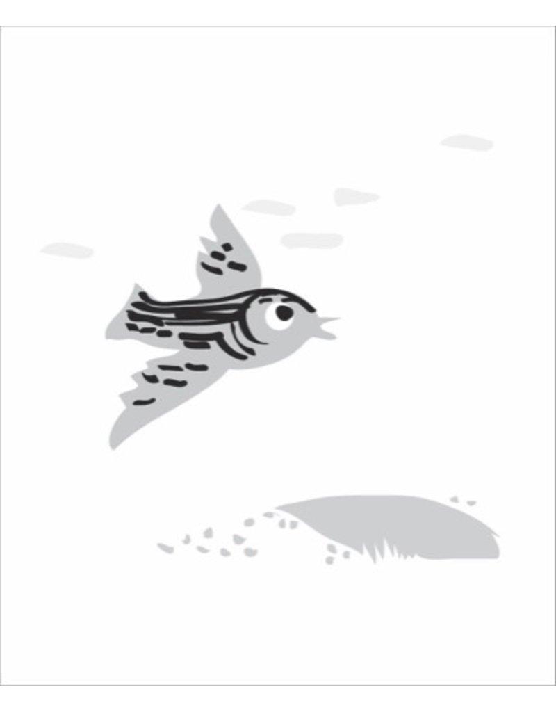 Vivid Print Bee Waeland   Near + Far Bird
