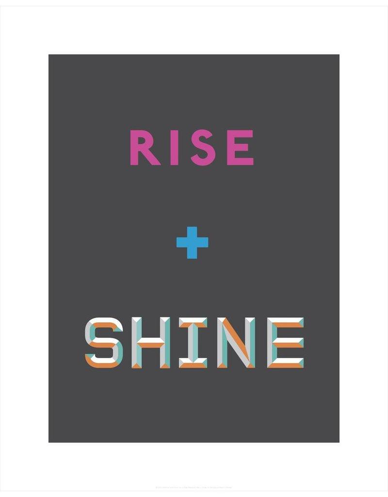 Vivid Print Bee Waeland   Rise and Shine