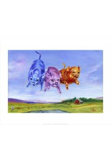Ann Waeland | Coloured Pigs<br />