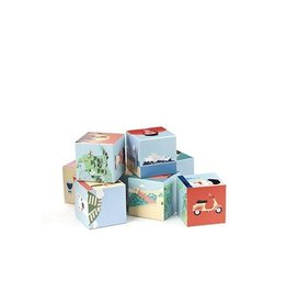 Kikkerland Geo Wooden Blocks