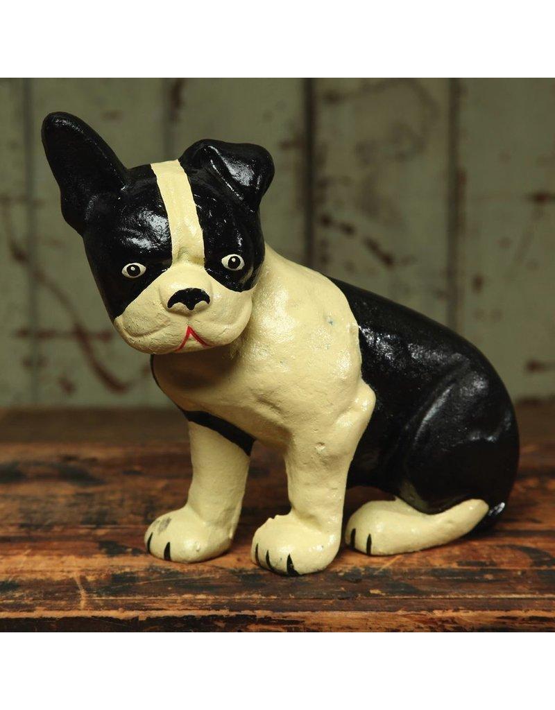 Lonnie the Boston Terrier Doorstop - Cast Iron