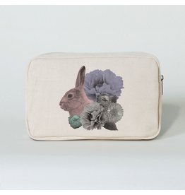 Imm Pastel Pastiche Rabbit Pencil Case