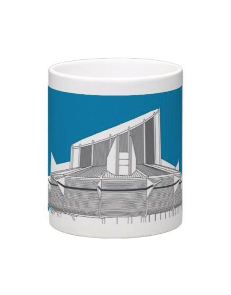Vivid Print Bee Waeland | Space Science Centre Mug