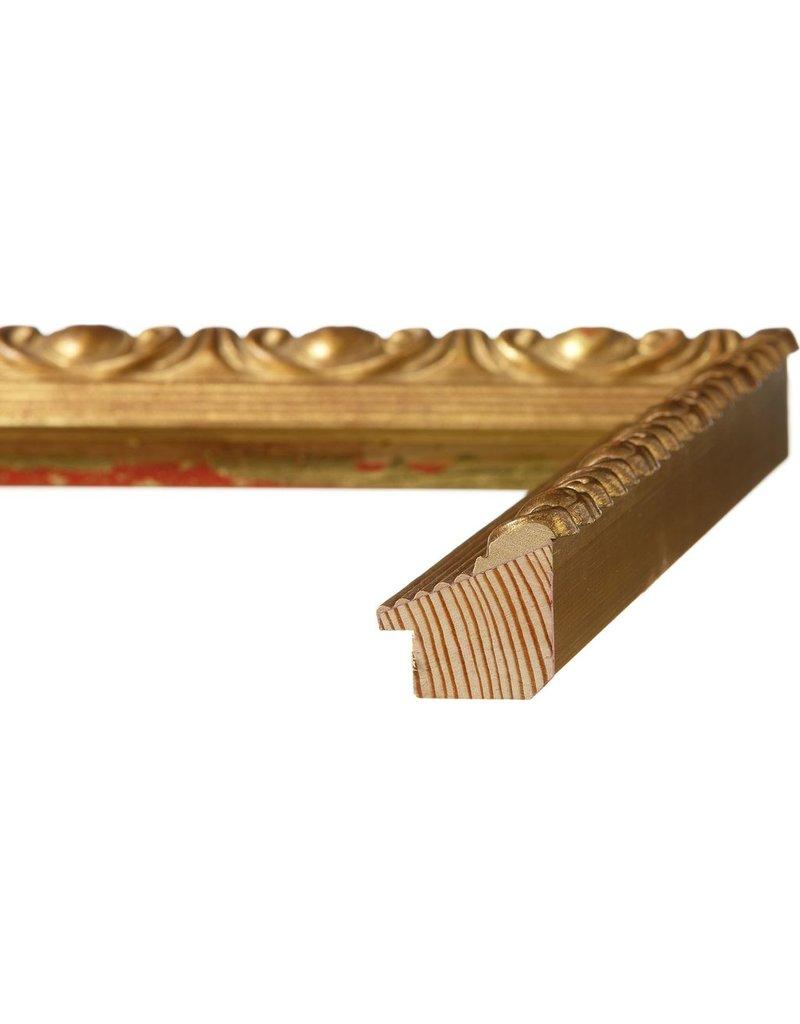 """Roma Vintage Gilded Gold Leaf 2 5/8"""""""