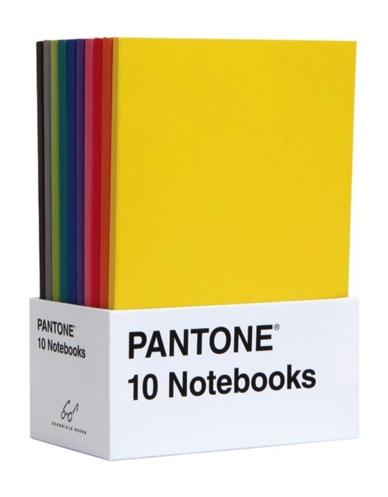 Chronicle Pantone: 10 Notebooks