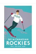 Vivid Print Bee Waeland | Ski Canadian