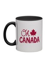 Vivid Print Bee Waeland | Oh Canada