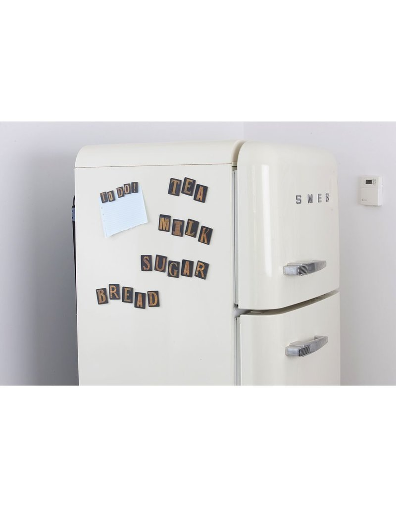 Wild & Wolfe Letter Press Magnets
