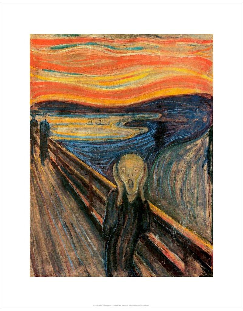 Vivid Print The Scream 1893   Edvard Munch