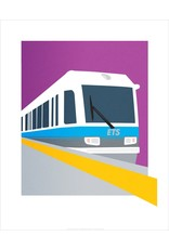 Vivid Print Bee Waeland | Light Rail
