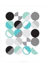 Vivid Print Bee Waeland | Randi Scandi Teal Mint